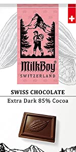 Extra Dark Chocolate Bars 85% Cocoa