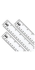 Mr. Pen- Ruler, Rulers 12 inch, Pack of 3