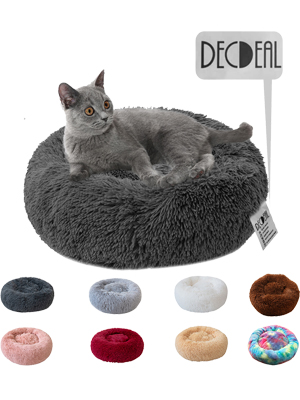 cat bed donut