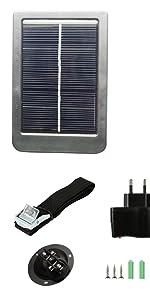 solar panel for trail camera
