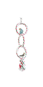 Bird Hanging Perches Swings Toy