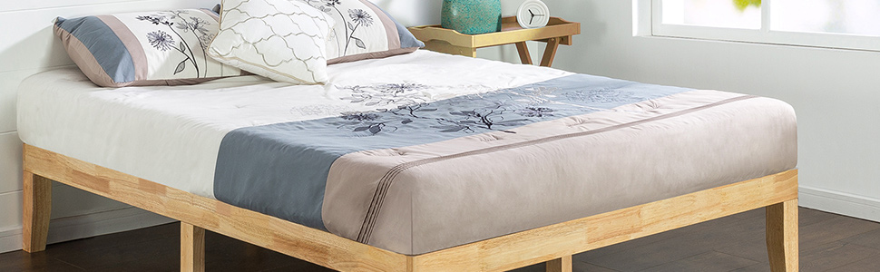 Zinus RWPB Timber Solid Wood Bed Frame Base Mattress Foundation Australia Online Cheap