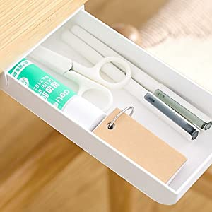 Under Desk Drawer Self-Adhesive Under Desk Storage office accessories