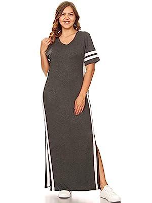 maxi dress, women's dress, black maxi dress, athletic maxi dress, plus size maxi dress