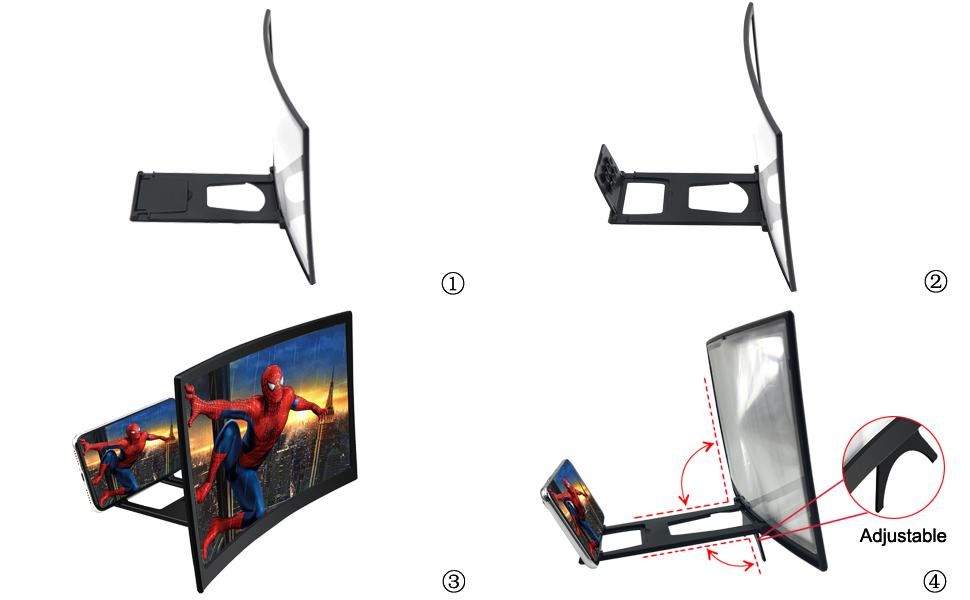 Details:Adjustable viewing angle
