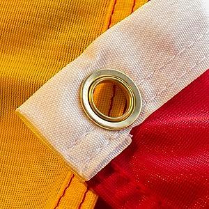 esvendio Bandera de España de Tela Fuerte (1 Unidad), Bandera ...