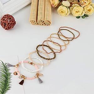 Bohemian Beaded Bracelets