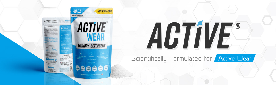 laundry detergent for athletic clothing