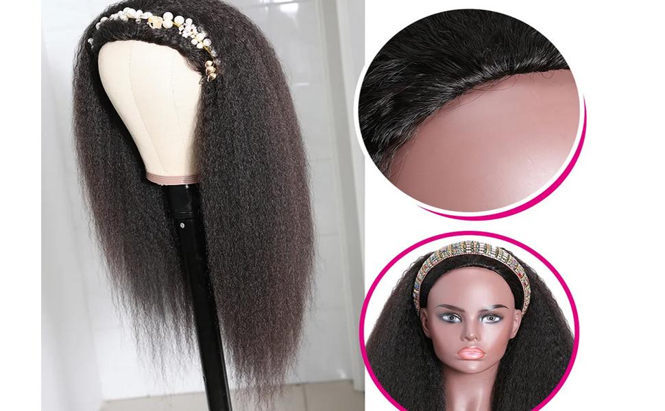 half wig kinky straight,human hair kinky straight half wig