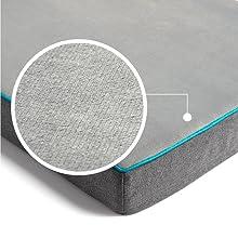 Bedsure Medium Memory Foam Dog Bed6