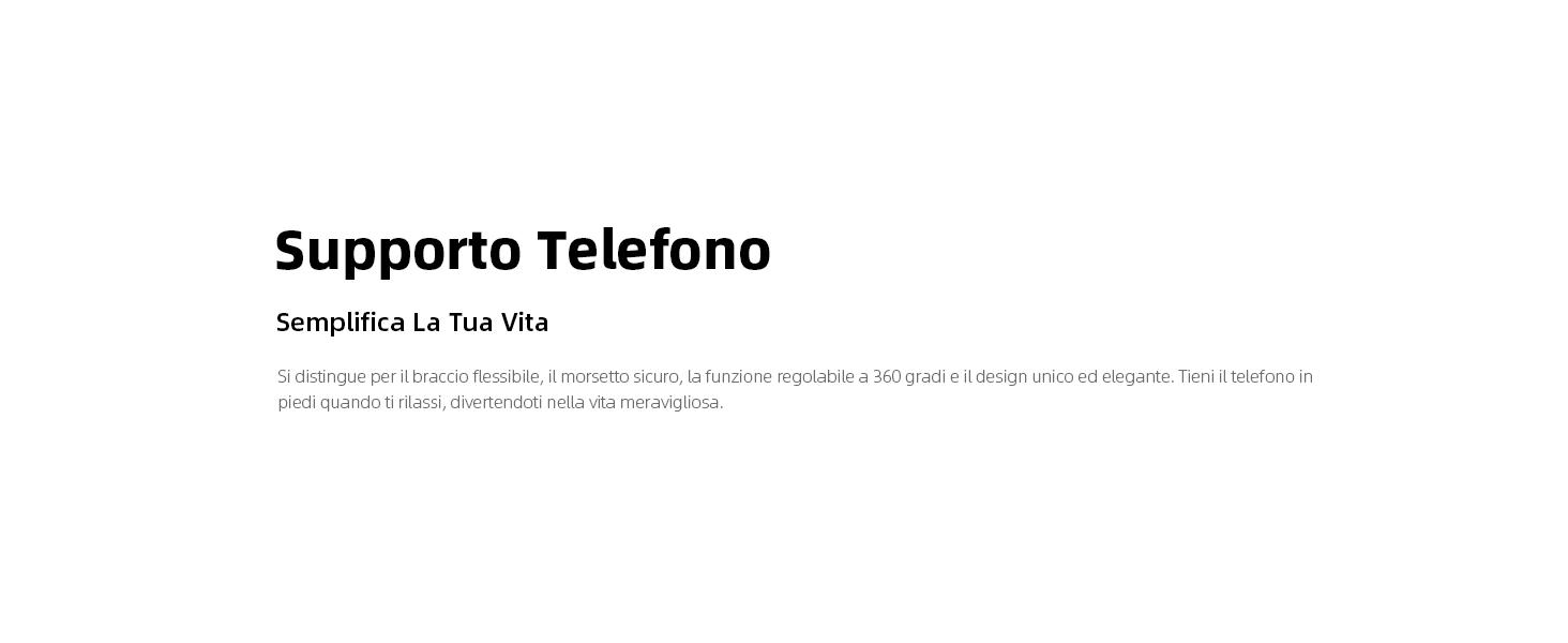 Supporto Telefono