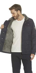 mens fleece sherpa coatr jacket