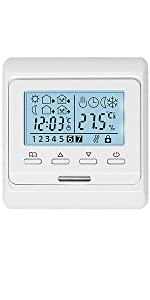 Programmable Thermostat for Electric Underfloor Heating