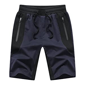 blue mens shorts