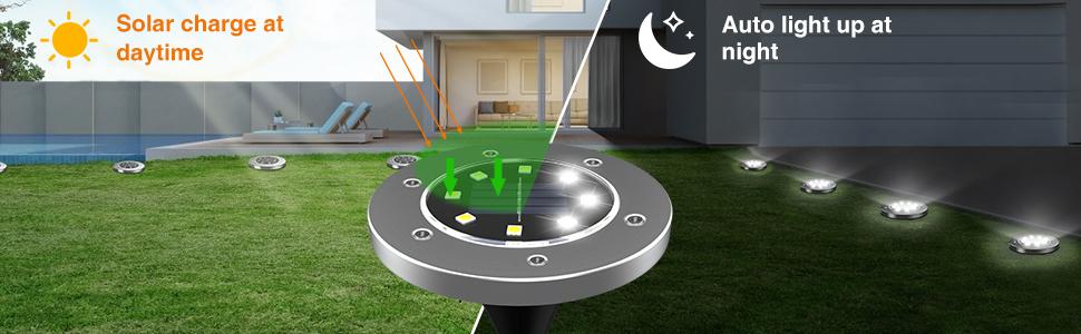 solar ground lights