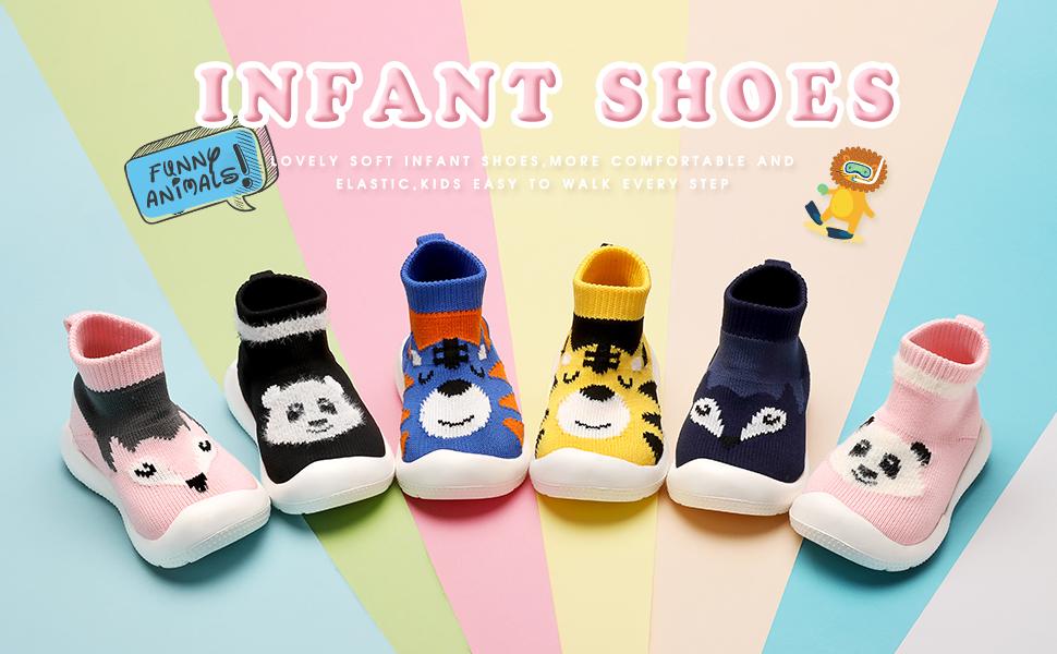 infant sock shoes