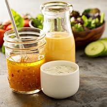 salad dressing, vinaigrette, balsamic, ranch, diy dressing, balsamic, olive oil, grapeseed oil
