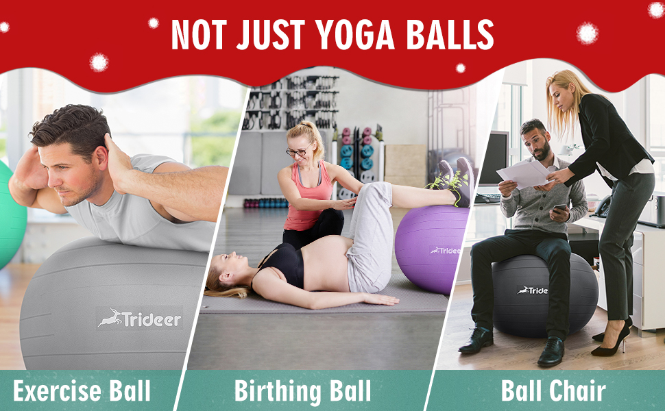 Extra Thick Yoga Ball Chair