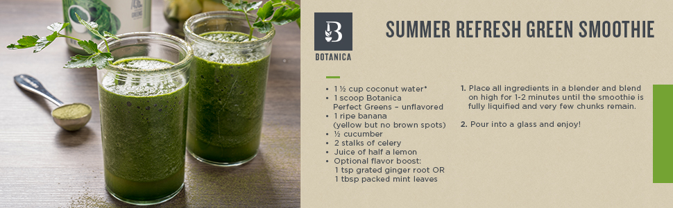 Greens Smoothie