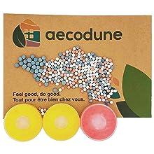 Navulverpakking vitamine C citroen, roze citroen en minerale bollen.