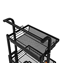 rolling carts for kitchen