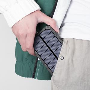 Compact and portable solar power bank
