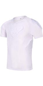 Youth Padded football shirt white