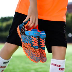 orange kids shoes