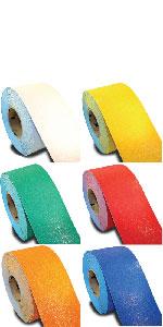Rolls of pavement tape
