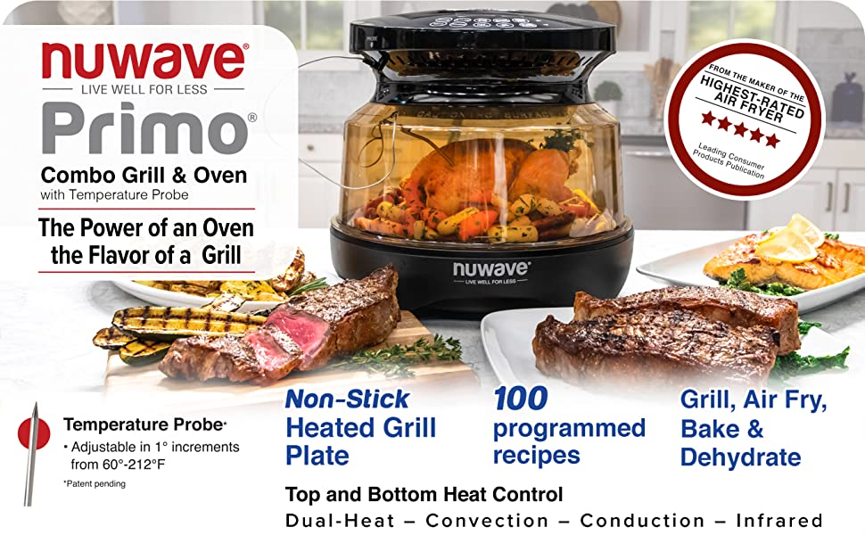 Nuwave Primo Combo Grill Oven