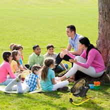 Children In Outdoor Activity