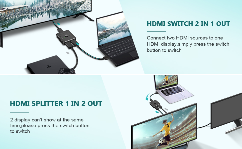 HDMI SPLITTER 2