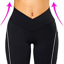 V cross waist