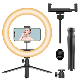 ring light with stand remote contorl