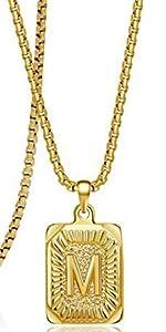 M necklace