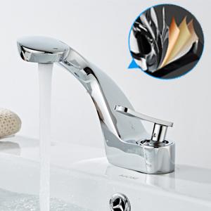 Single Hole Bathroom Sink Faucet chrome