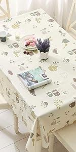 Tablecloth Vinyl No.003