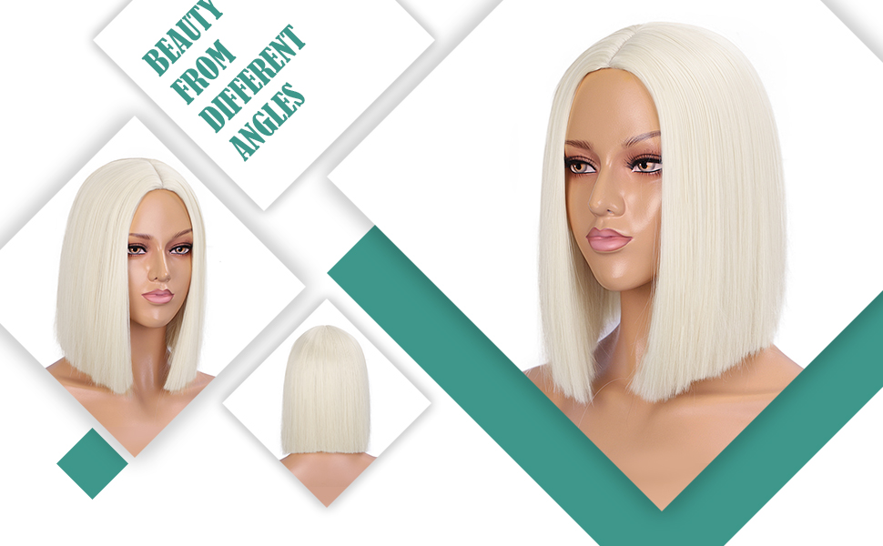 Synthetic Straight Hair