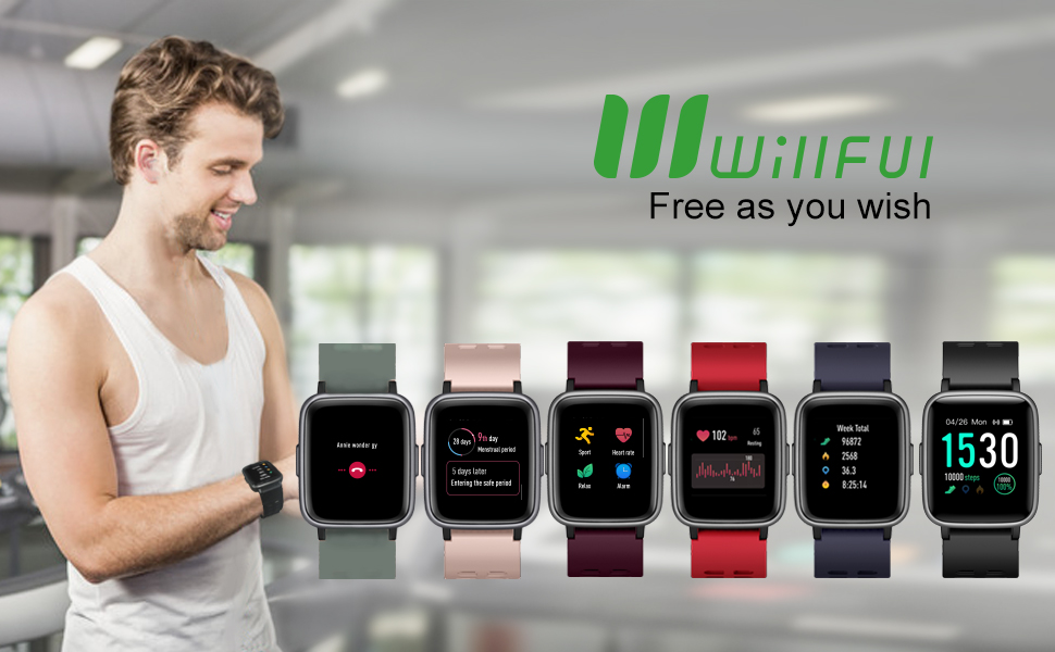 willful smart watch fitness tracker watch waterproof