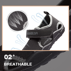breathable water shoes
