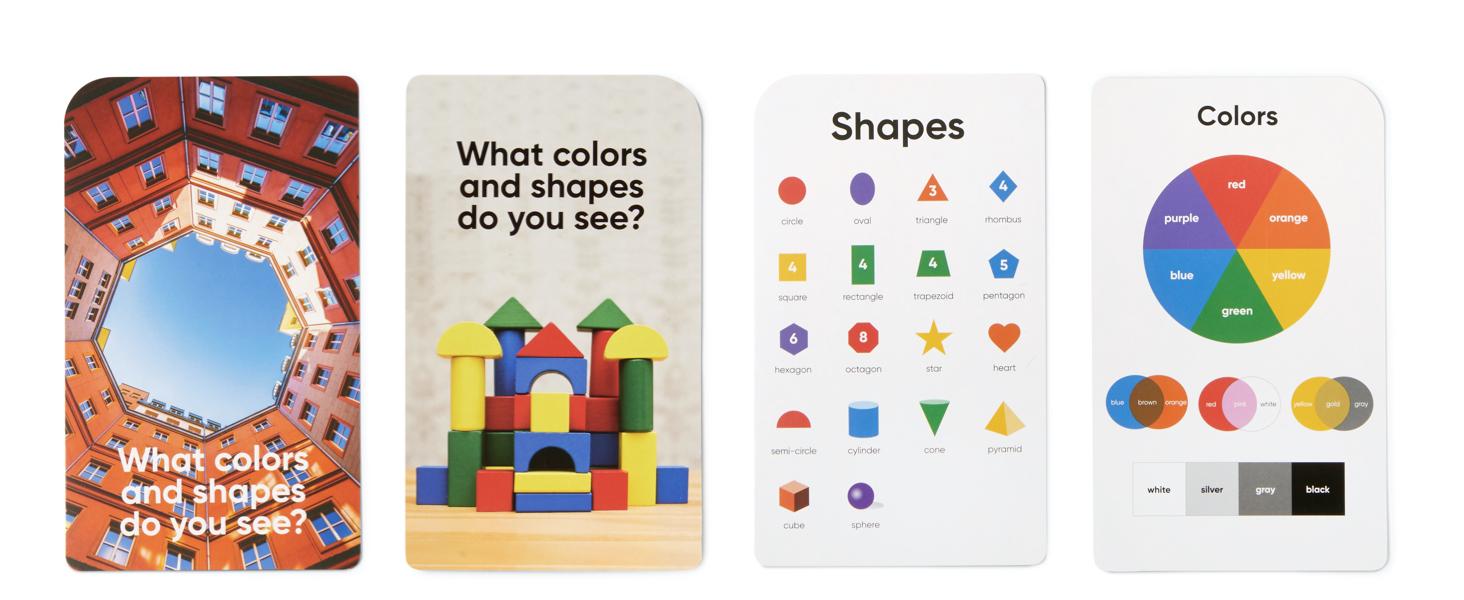 Colors & Shapes Bonus Cards