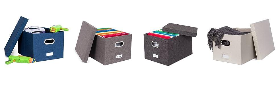 linen file box, storage box, teacher box, folding box, file storage organizer, shelf box, office