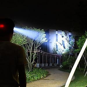 illumination range of 400 meters