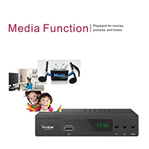 media function playback for movies pictures and music