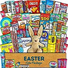 easter got basket care package morning present candy snacks treats kids children grandchild love big