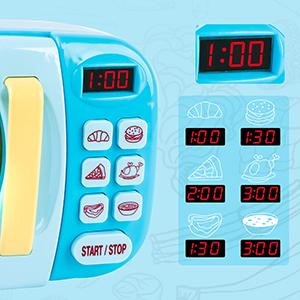 Microwave Toys Kitchen Play Set