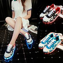 light led shoes