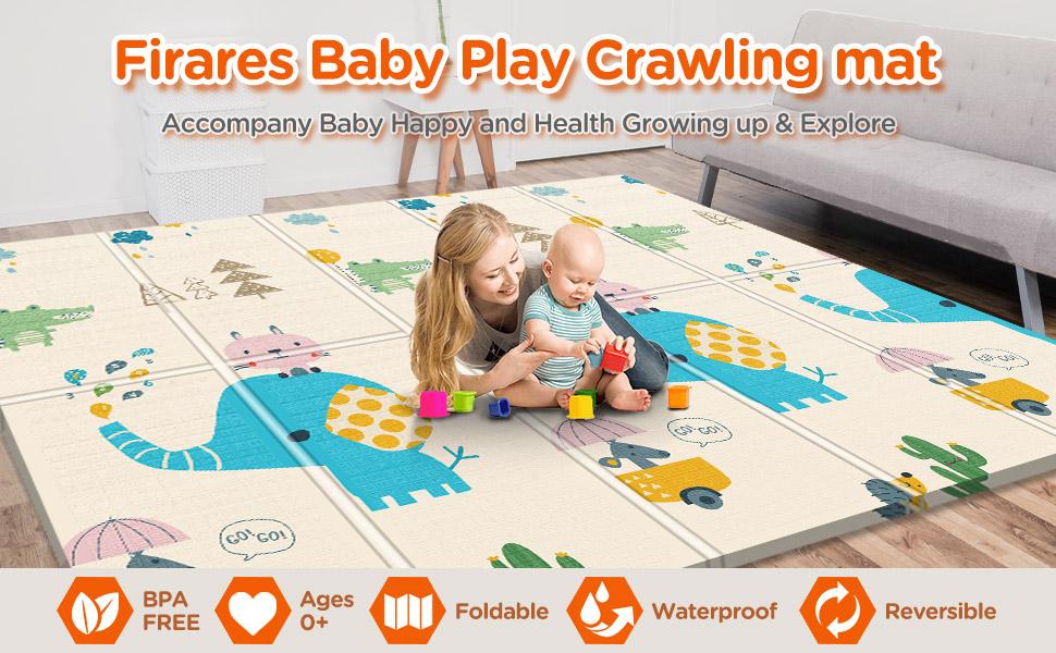 Firares baby crawling mat