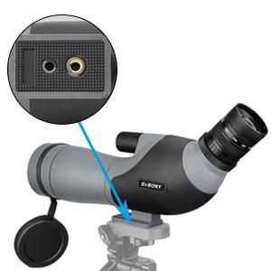 spotting scope with tripod