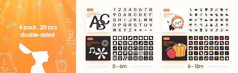 alfabet flash-kaarten